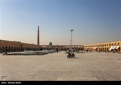میدان عتیق اصفهان در ابتدای محله جویباره