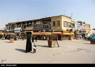 ابتدای محله جویباره اصفهان