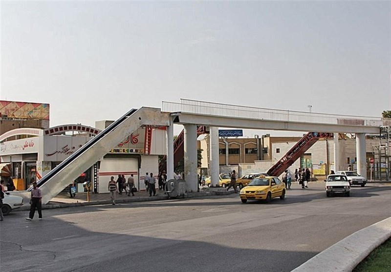 پل میدان آزادی سنندج