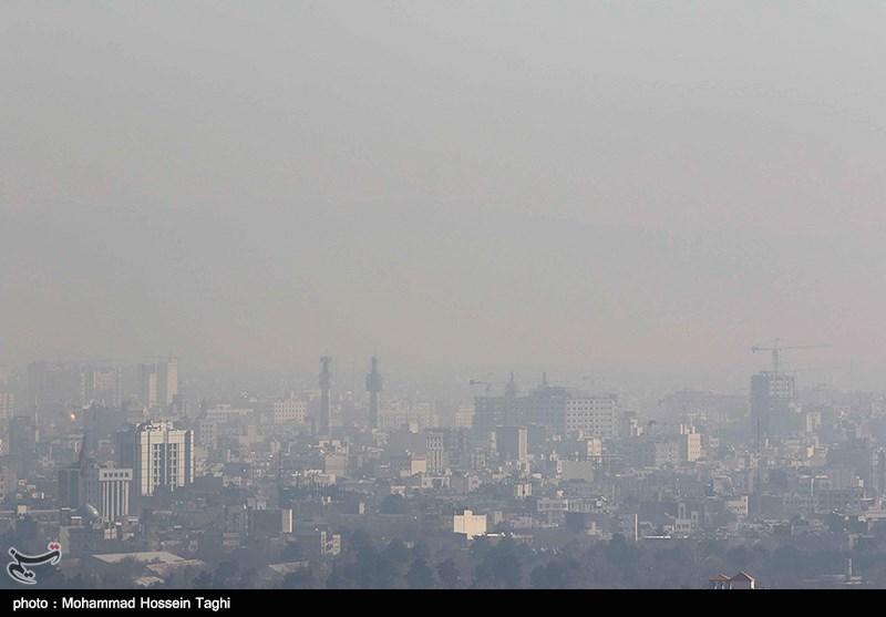 هوای یاسوج آلوده شد