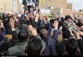 آئین تشییع شهید مدافع حرم « علیمحمد محمدی» به روایت تصویر