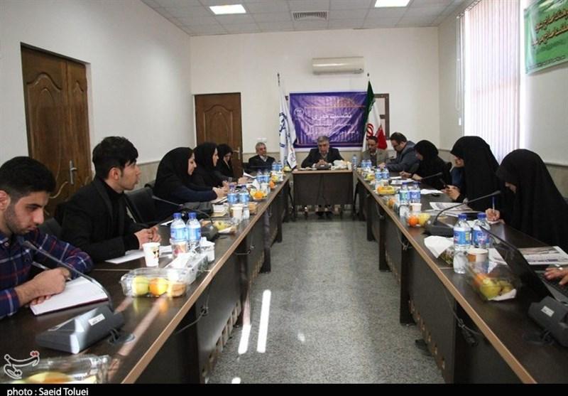 نشست خبری رئیس جهاد دانشگاهی در بجنورد+تصاویر