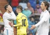 لالیگا| تداوم روند نامطلوب رئال مادرید با شکست خانگی مقابل ویارئال