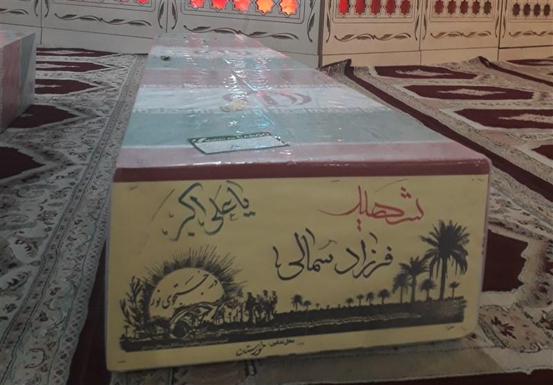 شهید فرزاد سمالی از شهدای جاویدالاثر شهرستان گتوند استان خوزستان