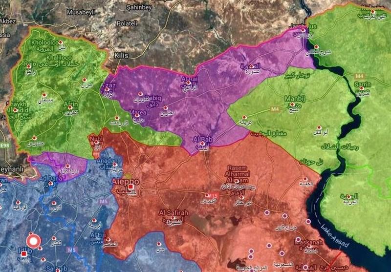 ماذا حقق الجیش السوری من انتصارات فی العام 2017 وماذا تبقى للمجموعات الإرهابیة +خرائط