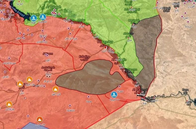 امریکہ کا شام کے صوبہ دیر الزور پر فاسفورس بموں سے حملہ کرنے کا انکشاف