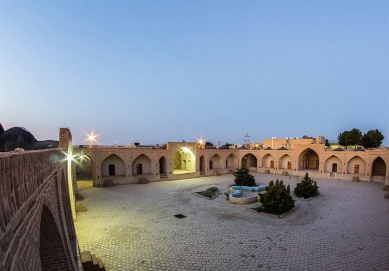 Shah Abbasi Caravanserai in Meybod, Yazd Province