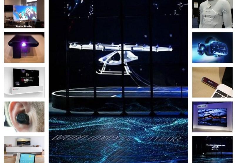 آخرین محصولات دنیای فناوری در آمریکا + عکس