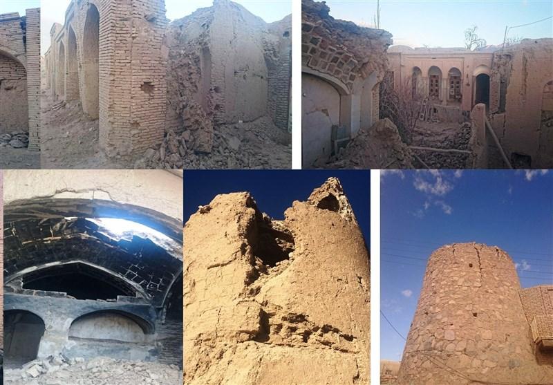 زلزله به آثار تاریخی کوهبنان آسیب وارد کرده است