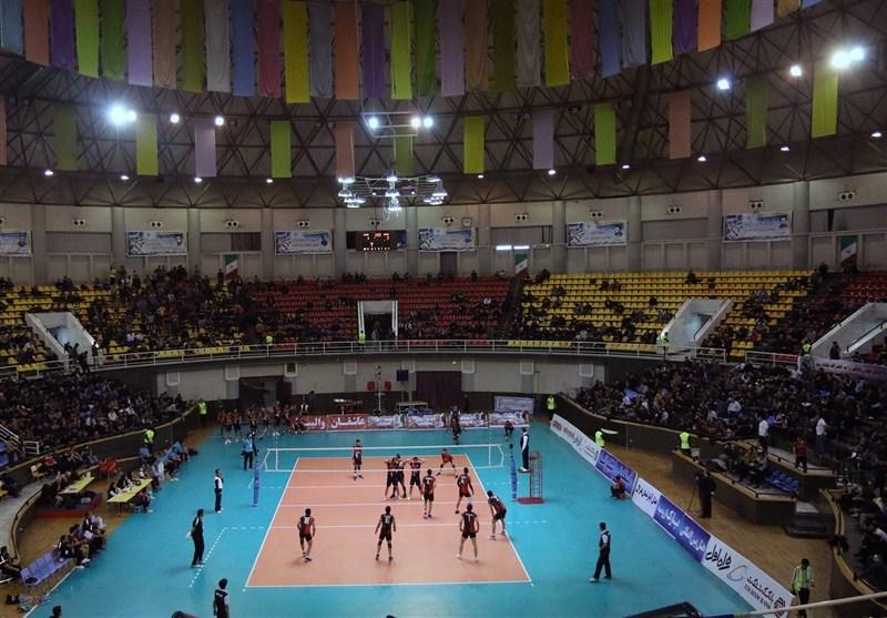 تیم والیبال شهرداری ارومیه با پیام مشهد مصاف میدهد