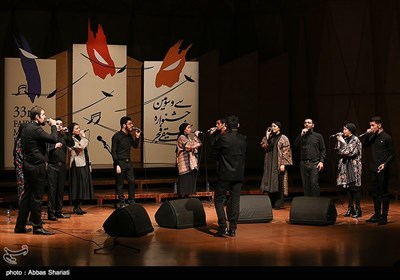 گروه آوازی تهران در چهارمین شب سیوسومین جشنواره موسیقی فجر