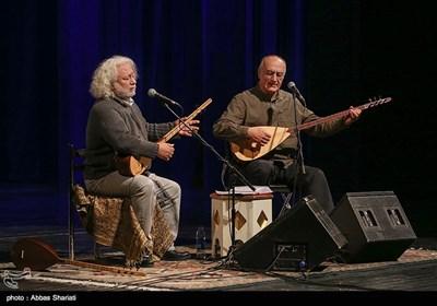 گروه ارکان اوگر از ترکیه در چهارمین شب سیوسومین جشنواره موسیقی فجر