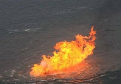 چین کے مشرقی ساحل پر ایرانی تیل بردار جہاز مکمل طور پر تباہ ہوگیا