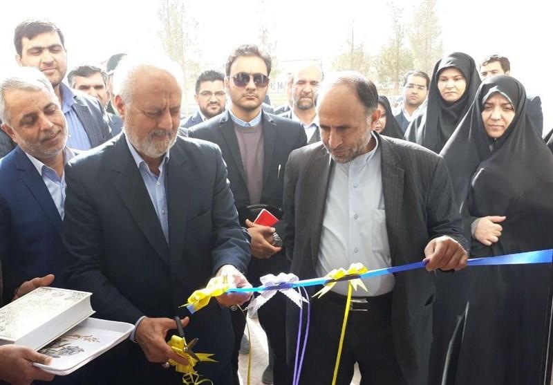 ساختمان فرمانداری با اعتباری بالغ بر 1 میلیارد تومان بشرویه افتتاح شد