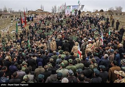 شهید الماس بیرامی دولتسرایی در 21 تیرماه سال 67 از تیپ 40 ارتش به درجه رفیع شهادت نائل آمد و پیکر پاک وی امروز با حضور مردم اردبیل تشییع شد.
