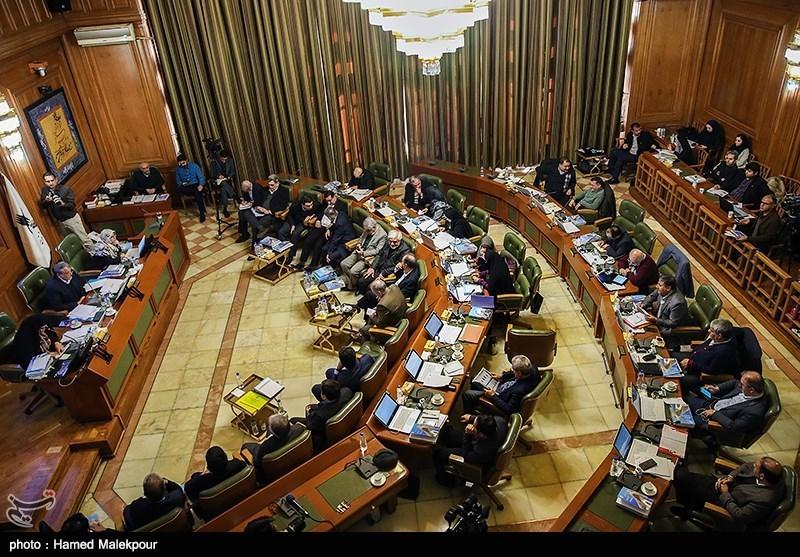 درگیری لفظی بین اعضای شورای تهران در رابطه با اجرا و یا عدم اجرای طرح ترافیک 97
