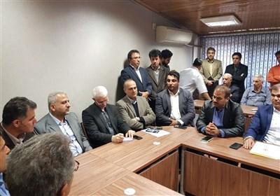 برگزاری مراسم معارفه رئیس فدراسیون بسکتبال در فدراسیون دوومیدانی!