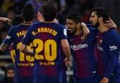 لالیگا| بارسلونا با درخشش مهاجمانش از شکست پیروزی ساخت