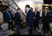 دیدار وزیر بهداشت با خانواده شهید تهرانی مقدم