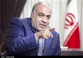 هوشنگ بازوند استاندار کرمانشاه