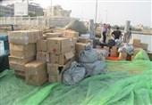 دستگیری قاچاقچیان 7 میلیارد ریالی در مرزهای غربی هرمزگان