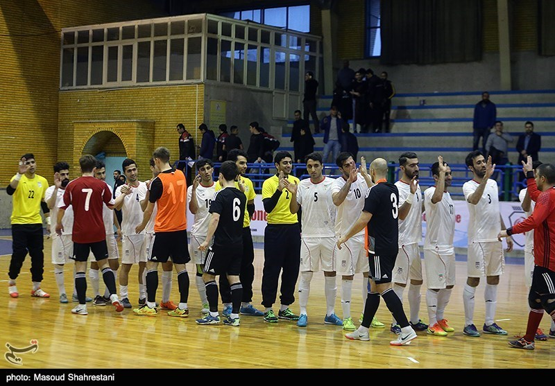 The Iranian national futsal