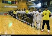 دیدار دوستانه تیم ملی فوتسال ایران و بلاروس