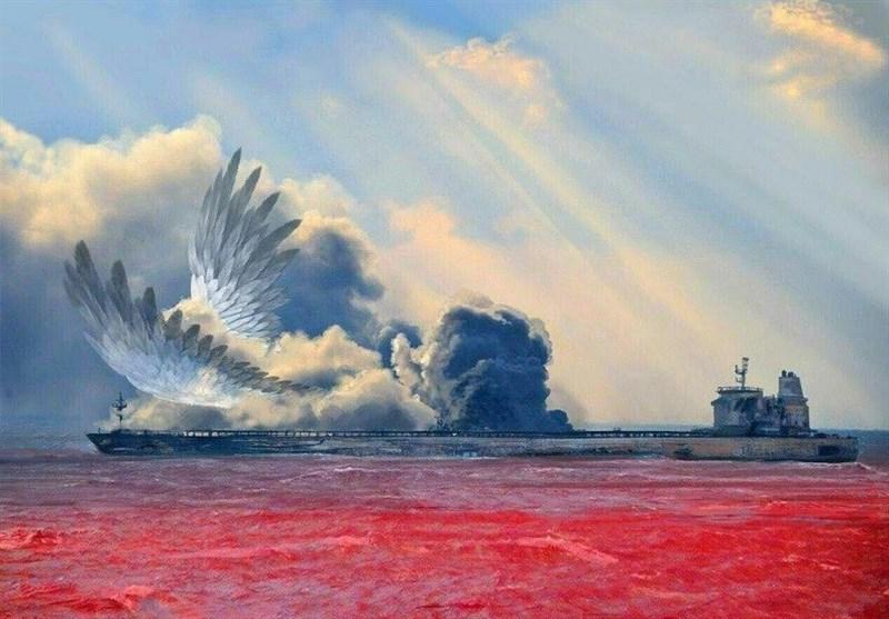 سرودهای تقدیم به جانباختگان کشتی سانچی: کسی آن سوی دریاهای بیفانوس میسوزد