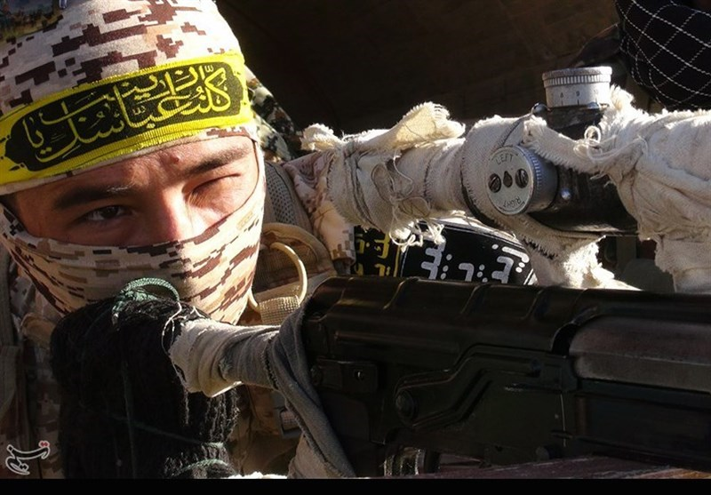 ناکامی داعش بعد از شهادت حججی با تاکتیک فاطمیون+فیلم