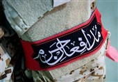 مراسم دومین سالگرد شهادت شهید مدافع حرم در منطقه 19