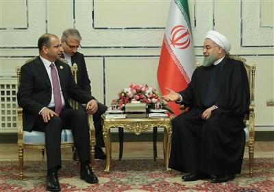 روحانی و رئیس مجلس عراق