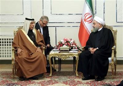 روحانی: ایران اجازه نمی دهد مردم قطر تحت فشارهای ناحق قرار بگیرند