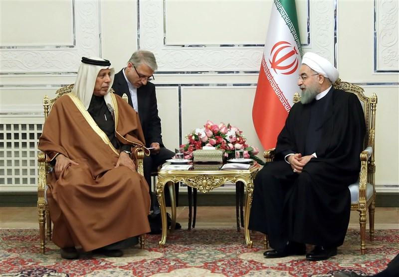 الرئیس روحانی: ایران لن تسمح بأن یتعرض الشعب القطری للضغوط