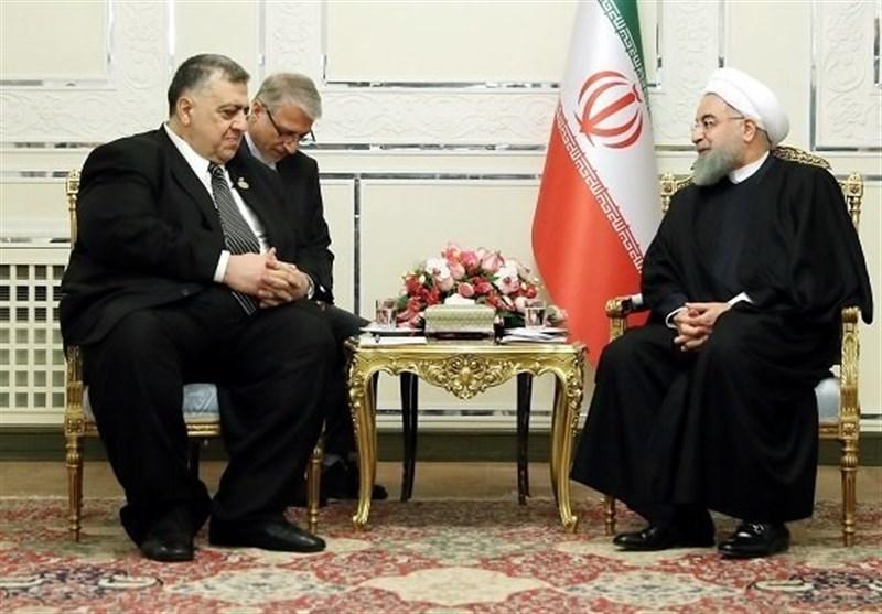 روحانی: المشروع الامریکی الجدید مؤامرة على وحدة سوریا