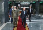 امیر حاتمی/ دیدار با وزیر تولیدات دفاعی پاکستان