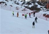 رقابت نخستین بانوی نابینای ایران در مسابقات اسکی آلمان برای کسب سهمیهالمپیک