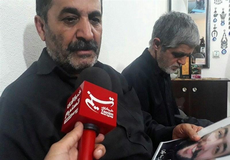 پدر شهید خدمت حیدریه: پسرم را تقدیم نظام جمهوری اسلامی ایران کردم+ فیلم