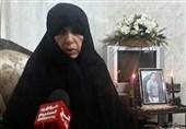 مادر شهید ضیایی