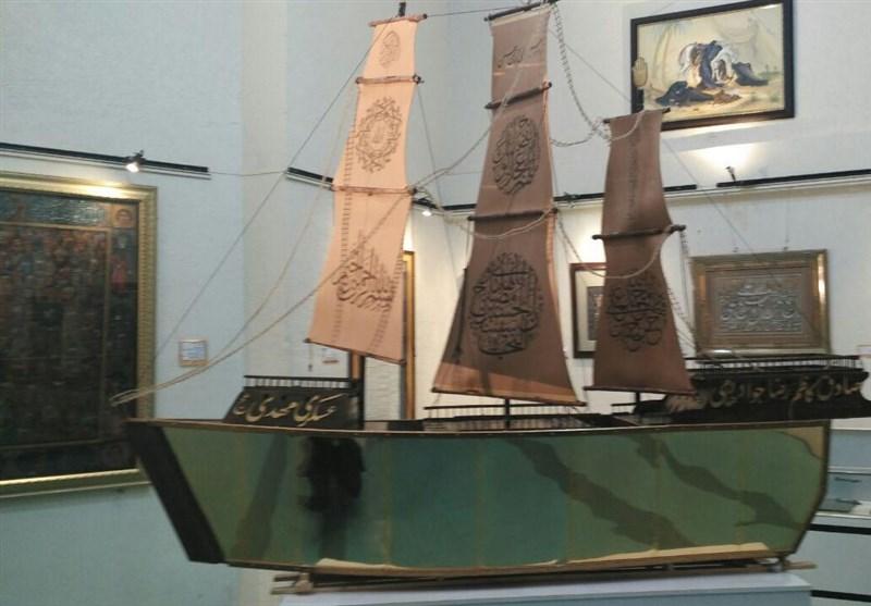 """رونمایی از """"قرآن کشتی مطلا"""" به روایت تصویر"""