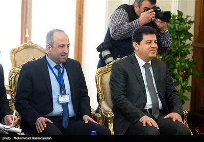 دیدار رئیس مجلس سوریه با وزیر امور خارجه