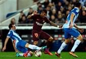 کوپادلری| شکست دیرهنگام بارسلونا در شب از دست رفتن پنالتی مسی