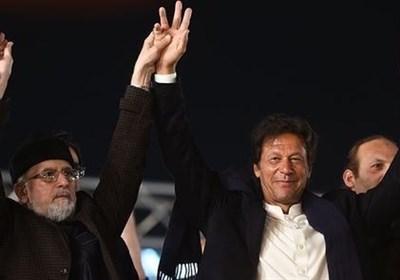 عمران خان و القادری