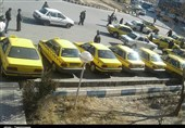 شلوغی مراکز معاینه فنی و تاکسیهای گازسوزی که جریمه شدند