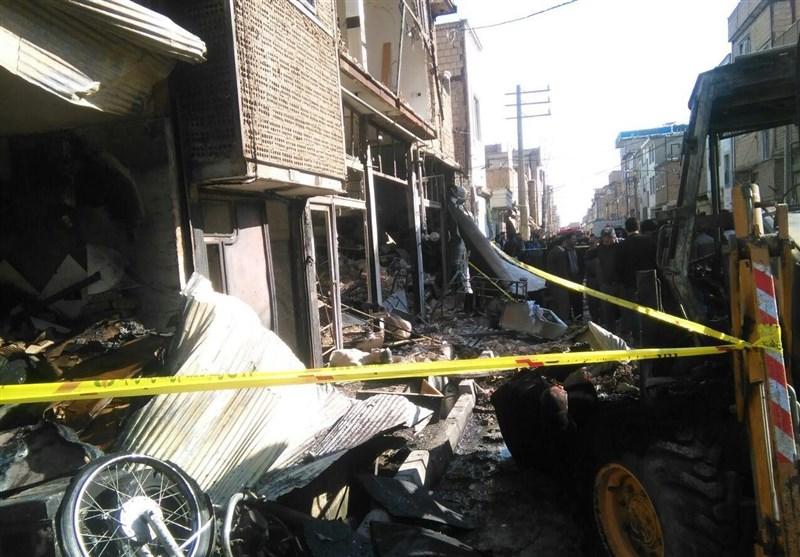 انفجار لوله گاز در شهرک امام حسین(ع) اسلامشهر؛ 6 نفر مصدوم شدند