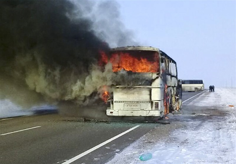 52 Uzbeks Killed in Bus Fire in Kazakhstan