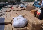 لنج تجاری حامل محموله 11 میلیاردی کالای قاچاق در شرق هرمزگان توقیف شد
