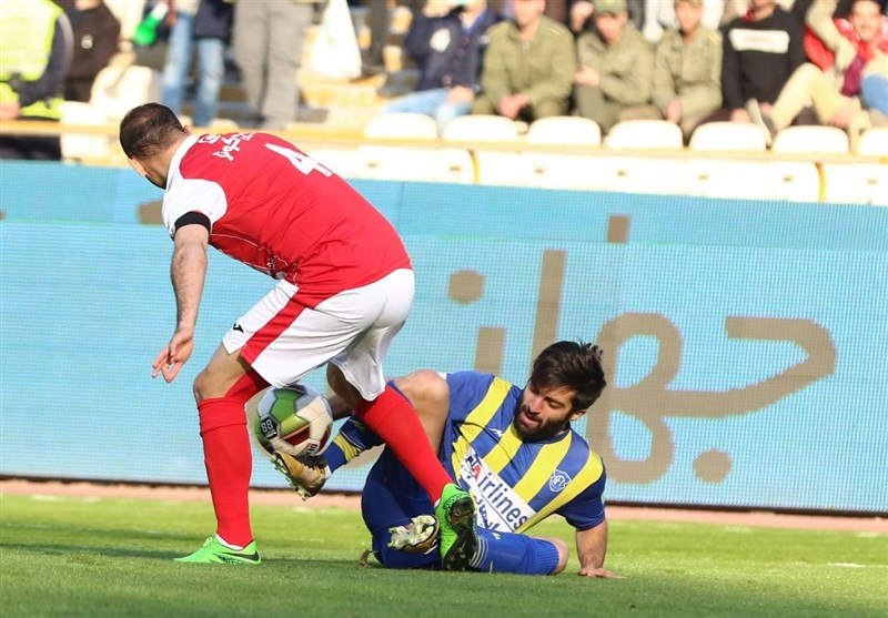 Persepolis Held by Gostaresh Foolad in IPL
