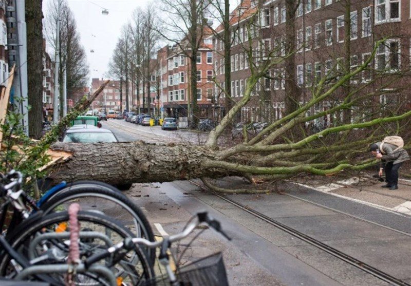 Three Killed as Severe Storm Lashes Netherlands