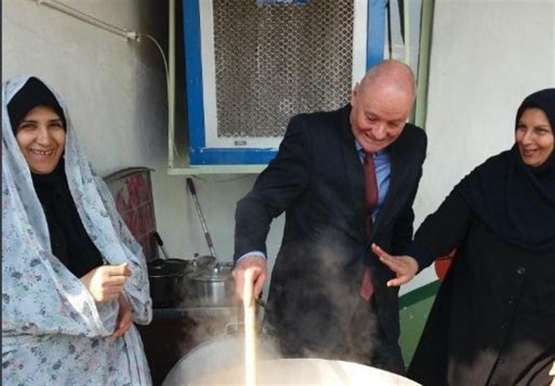 کلاس آشپزی آبگوشت برای سفیر آلمان در ایران + تصویر