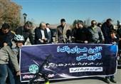 دوچرخه سواری استاندار خراسان شمالی